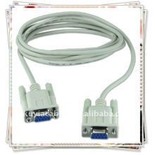 DB9 9pin Serial Extension Cable Mujer a hembra