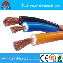 Cable de soldadura Cable de PVC de 35mm, 50mm, 70mm2, 120mm de caucho