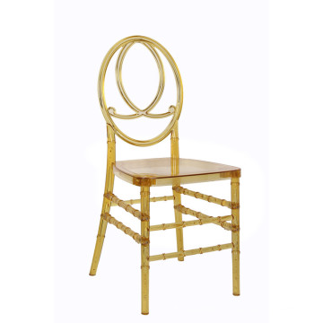 Clear Phonix Chair for Outdoor Wedding Use