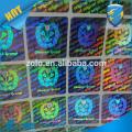 Sticky anti-faux Bouteille de vin personnalisé impression svag hologramme garantie sécurité étiquette autocollant sceau