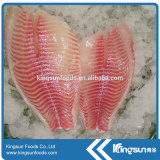 Frozen Tilapia Fillet with good quality (Oreochromis Niloticus)