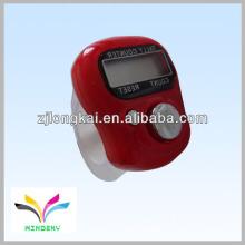 Presente promocional fasional 2013 musilar vermelho eletrônico digital dedo manual contador de contos