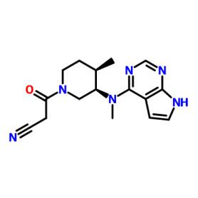 Cas477600-75-2 3-((3R,4R)-4-Methyl-3-(methyl(7H-pyrrolo[2,3-d]pyrimidin-4-yl)amino)piperidin-1-yl)-3-oxopropanenitrile