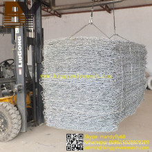Cesta de piedra Hexagonal Wire Netting Gabion