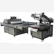 Máquina de impresión de pantalla a tope máquina ultravioleta con brazo robótico