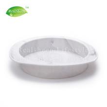 Runde Marmorsilikon-Kuchenform