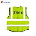 High quality safety Clothing Traffic Safety reflective Vest with ID pocket