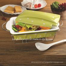 Bakeware de Porcelana Antiaderente de Alta Qualidade (conjunto)
