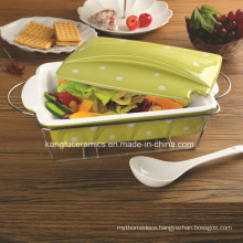 High Quality Nonstick Porcelain Bakeware (set)