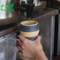 Leak-proof Silicone Top Quality BPA Free Folding Cup