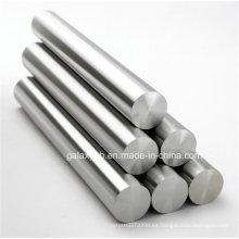Barra redonda de la aleación de titanio recto de ASTM B348 Gr5