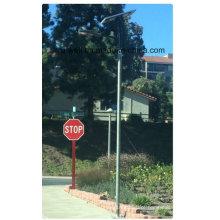 30W LED 60W Painel Solar Integrado Solar Rua Luz Tudo-em-Dois Solar LED Street Lamp