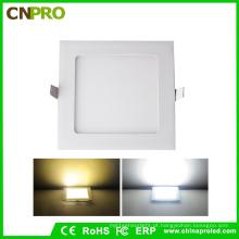 Atacado LED Quadrado Painel de Luz 15 W para 85-265VAC Recesso de Montagem