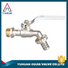 """TMOK 3/4"""" Garden Bib Tap Water Lever Type Valve Red Handle bibcock"""