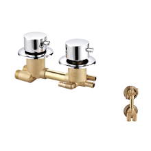 Manufacturer forged sanitary ware bathroom standard mixer faucets  brass shower bath faucet