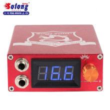 Solong татуировки Красный сплав ЖК-дисплей высокое качество 12V блок питания татуировка питания