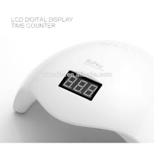 Weiß sun5 48W Nagel Gel Aushärtung UV Lampe