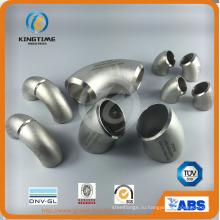 Колено 45D нержавеющей стали встык с Ce ASTM Wp316 / 316L патрубок (KT0121)