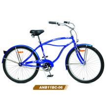 Bicicleta de crucero de playa de estilo vintage para hombre de 26 '' (ANB11BC-06)