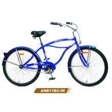 26 '′ Steel Classic Vintage Mens Beach Cruiser Bike (ANB11BC-06)