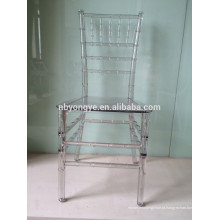 Alta qualidade Resina Chiavari Tiffany Cadeira