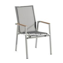 Chaise de jardin Textilene