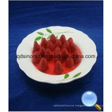 Fresa enlatada en jarabe con calidad seleccionada