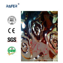 Hoja de acero en relieve de la venta caliente de la nube (RA-C038)