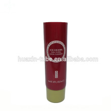 metal cosmetic tubes packaging 80ml hand cream plastic tube