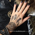 Fashion Henna Tattoo Sticker with high quality and non-toxic