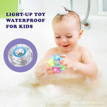 manufacturer wholesale custom light led bath toy with waterproof