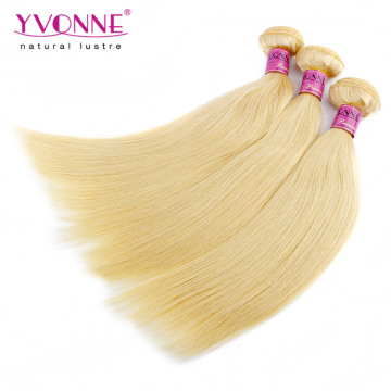 Top Quality Blond Peruvian Straight Human Hair