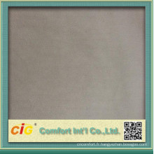 Tissu doux Polyester Plain