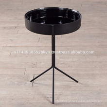 Placa redonda com 3 pernas Mesa lateral