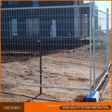 Feuerverzinktem Stahl Temporären Beweglichen Zaun