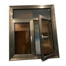 European style beautiful home window design uganda window and door size customized triple glazed swing sash windows