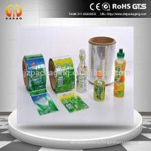 ПЭТ термоусадочная этикетка для термоусадочной втулки для бутылок