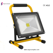 China High Power COB 10W/20W/30W/50W Rechargeable LED Floodlight