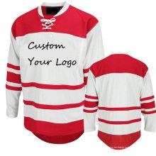 Equipo / Club Práctica de entrenamiento Ice Hockey Jersey Shirt Custom