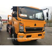 4x2 8m3 Vacuum Sewage Suction Tanker Truck