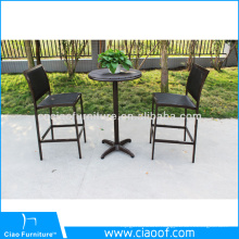 New Design Good Quality All Weather Bar Set Furniture