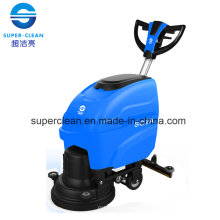 Walk Behind Floor Scrubber with Butterfly Handle