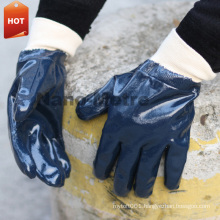 NMSAFETY heavy duty nitrile work glove russian use oil field working glove oil proof nitrile glove
