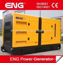 motor diesel refrigerado por agua accionado por CUMMINS grupo electrógeno de dosel silencioso 128kw