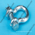 G2130 Us Type Drop Forged Bow Shackle Rigging Hardware