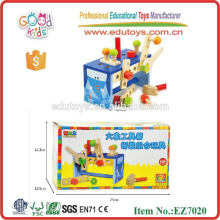 OEM Wooden Educational Toy Tool Box