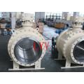 Große Größe Dn600 Trunion Ball Ventil
