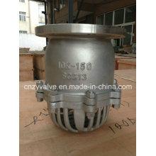 Válvula de pie Ds150 estándar de JIS Standard Scs13 10k