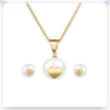 Fashion Accessories Stainless Steel Jewellery Jewelry Set (JS0043G)