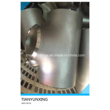 B16.9 T del reductor del acero inoxidable inconsútil